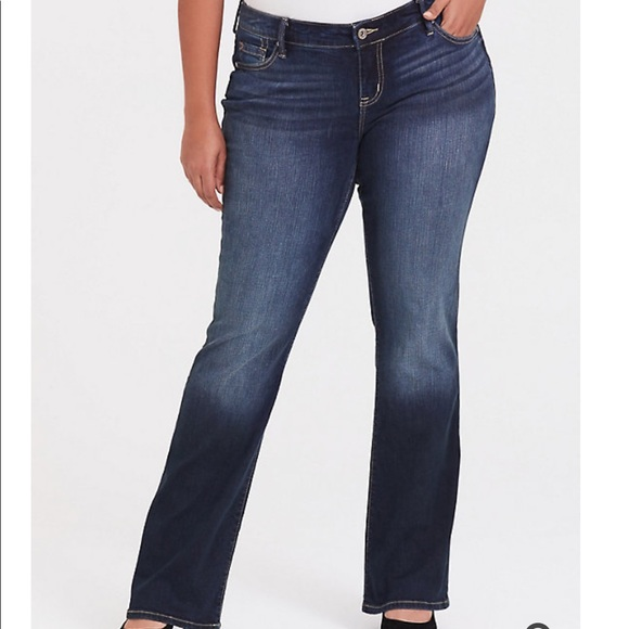 RELAXED BOOT JEAN - VINTAGE STRETCH DARK WASH